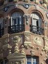 Historicist architecture in Madrid. Spain.