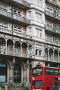 Historisches London-Hotel Stockbilder
