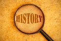 History Royalty Free Stock Photo