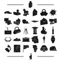 History, tourism, winemaking and other web icon in black style.wine, wine glass, icons in set collection.