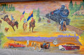 History of williams mural arizona april on route on april in arizona Stock Photos