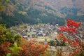 Historyczna idzie shirakawa widok wioska Obraz Royalty Free
