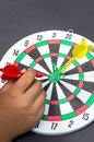 Hit dart Stock Photos