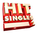 Hit Singles volume 2 - 3d logo