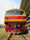 Hitachi locomotive Royalty Free Stock Photo