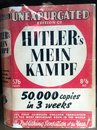 Hitlers Mein Kampe Mein Kampf political ideology book Royalty Free Stock Photo