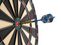 Hitting the bullseye! Stock Images