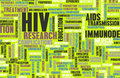 Hiv awareness and prevention campaign concept art Stock Images