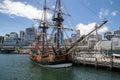 HMB Endeavour replica Royalty Free Stock Photo