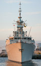 Hmcs halifax canada may ffh is a class frigate that has served in the royal canadian navy since Stock Photo