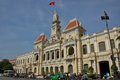 Ho chi minh city hall dans saigon Photos libres de droits