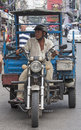 Ho chi minh city vietnam nov rd a man rides down bui vien stre street on converted motorbike on november there are many different Stock Photography