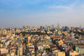 Ho chi minh cityscape sky view nowadays city vietnam january Royalty Free Stock Images