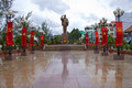 Ho chi minh statue can tho vietnam july in can tho vietnam on july this is vietnam s fifth largest city with population of million Stock Image