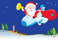 HO HO HO Santa is coming Royalty Free Stock Photography