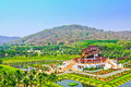Ho kham luang in chiang mai province of thailand Stock Photos