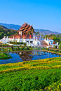 Ho kham luang in the north of thailand Stock Image