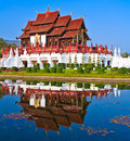 Ho kham luang in the north of thailand Royalty Free Stock Image