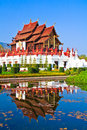 Ho kham luang in the north of thailand Royalty Free Stock Photos