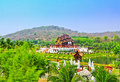 Ho kham luang in the north of thailand Stock Photography