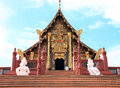 Ho Kham Royal Pavilion at Royal Flora Ratchapruek Royalty Free Stock Photo