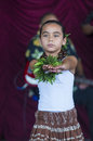 Ho olaule a pacific islands festival henderson nevada sep dancer with traditional dress performs hawaiian dance in the rd annual Royalty Free Stock Photo