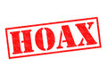 HOAX Rubber Stamp Royalty Free Stock Photo