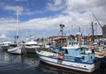 Hobart City Marina Royalty Free Stock Photo