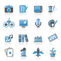 Hobbies and leisure Icons Royalty Free Stock Photography