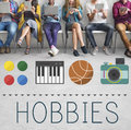 Hobbies Leisure Lifestyle Pastime Fun Concept Royalty Free Stock Photo