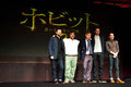 The hobbit december st tokyo japan – casts of appear at press conference for an unexpected journey by peter Stock Images
