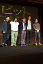 The hobbit december st tokyo japan – casts of appear at press conference for an unexpected journey by peter Stock Photos