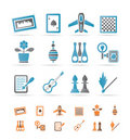 Hobby, Leisure and Holiday objects Royalty Free Stock Photos