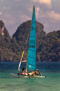 Hobie Cat Stock Photo
