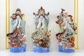 Hock Lok Siew or Fu Lu Shou, three gods of Chinese Royalty Free Stock Photo