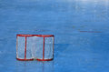 Hockey goal Royalty Free Stock Photo