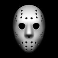 Hockey mask Stock Photography