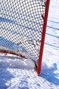 Hockey net Royalty Free Stock Photo