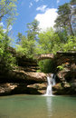 Hocking Hills Waterfall Stock Image