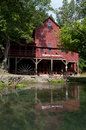 Hodgson water mill Royalty Free Stock Photography