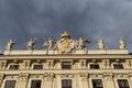 Hofburg details architectural of palace vienna austria Stock Photo