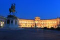 Hofburg palace at sunset in vienna austria Royalty Free Stock Image