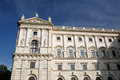 Hofburg, Vienna historical architecture, austrian castle as a fo Royalty Free Stock Photo