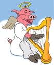 Hog Heaven Royalty Free Stock Photo