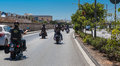 Hog world ride malta june malta chapter members gather up on the occasion of harley davidson harley owners group is made up of Royalty Free Stock Photo