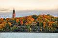 Hogalid church in stockholm twin towers of Stock Photography