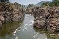Hogenakkal Cauvery River Royalty Free Stock Photo