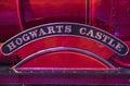 Hogwarts Express Train Detail Royalty Free Stock Photo