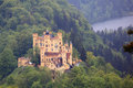 Hohenschwangau Castle in Bavaria Royalty Free Stock Photo