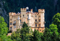 Hohenschwangau castle bavaria germany schloss th century palace in southern germany built on the remains of the fortress schuangau Stock Photos